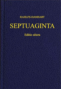 Septuaginta editio altera